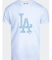 camiseta new era time icon branca masculina
