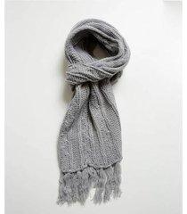 cachecol feminino tricô marisa