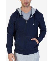 nautica men's big & tall zip-up hoodie
