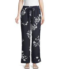 classic floral pants