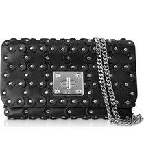 red valentino designer handbags, flower puzzle leather clutch