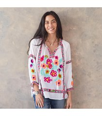 trailing hibiscus shirt
