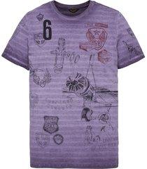 pme legend t-shirt ptss195552 paars
