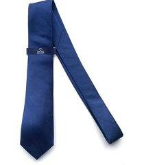 corbata azul oscar de la renta 20as2188-195