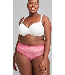 lane bryant women's no-show full brief panty 14/16 caberet lace