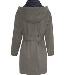 tweezijdig te dragen jas met capuchon van mybc multicolour