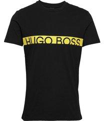 t-shirt rn t-shirts short-sleeved svart boss