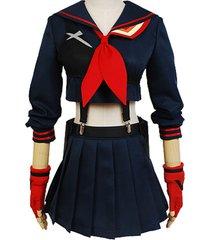 yosinacos kill la kill costume ryuko matoi cosplay sailor suit uniform dress