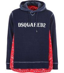 dsquared2 bandana hoodie