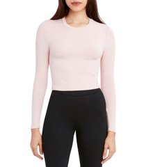 bcbgeneration ribbed long-sleeve top