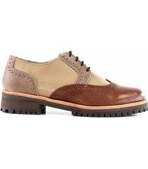 zapato marrón briganti mujer manaos