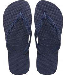 havaianas slipper top navy blue