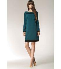 sukienka america s40 zielona