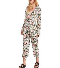sierra floral jumpsuit