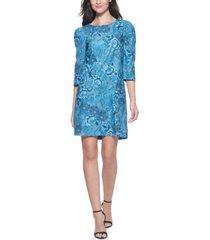 kensie soft corduroy printed dress
