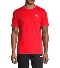regular-fit 3d logo cotton t-shirt