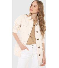 chaqueta blanco hueso mng