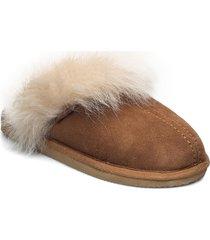 evelina slippers tofflor brun shepherd