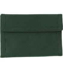 billetera outdoor wallet verde doite