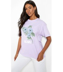 overdye miami t-shirt, lilac
