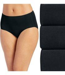 jockey women's 3-pk. no panty line promise cotton hipster underwear 1772