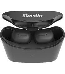 bluedio audífonos tws manos libres bluetooth 5.0 micrófono
