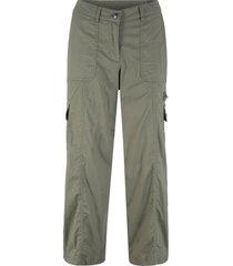 pantaloni 7/8 gamba larga (verde) - bpc bonprix collection