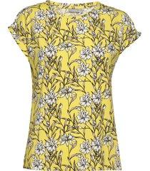 frjeseen 1 t-shirt t-shirts & tops short-sleeved gul fransa