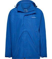 monitor m jacket regnkläder blå tenson