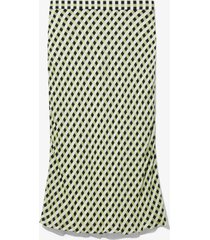 proenza schouler white label multicolor gingham georgette slip skirt opt wht/blk/clry med ging/green 6