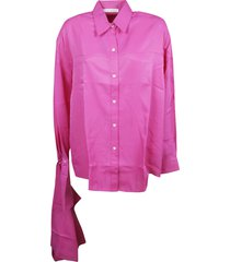 peter do scarf cuff shirt