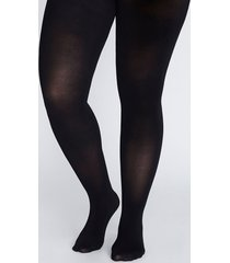 lane bryant women's smoothing tights - super opaque g-h black