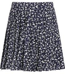 bonpoint blue skirt for girl with cherries