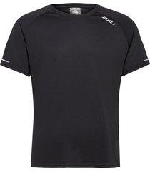 aero tee t-shirts short-sleeved svart 2xu