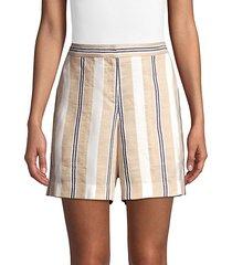 fulton suspended stripe shorts