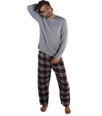 members only long sleeve knit sleep shirt