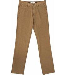 pantalón casual 440 habano bota recta regular fit para hombre 02516