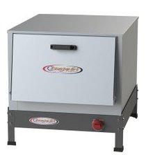 forno industrial de mesa a gás itajobi 90l baixa pressão tampa inox