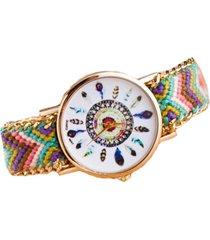 reloj multicolor sasmon re-12704