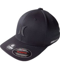 gorra hurley dri-fit one & only 37-gris oscuro s/m