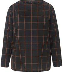 sweatshirt met lange mouwen van via appia due zwart