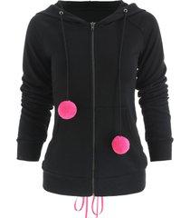halloween lace up zip up hoodie