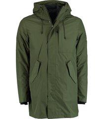 bos bright blue parka jacket inner jacket 20301ke17sb/368 olive