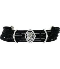 diamond motif bracelet
