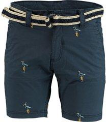 anerkjendt korte broek bermuda blauw 9219407/3025