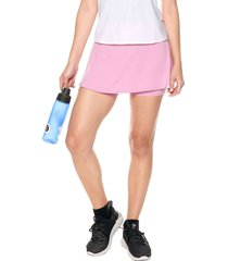 falda short rosa nike w  nkct flouncy skirt