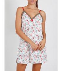 pyjama's / nachthemden admas babydoll roze romantisch ivoor adma's