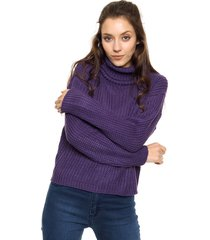 sweater violeta exótica milán