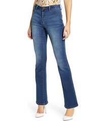 1822 denim butter slim fit bootcut jeans, size 29 in ziggy at nordstrom