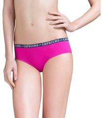 calcinha boneca rosa pink capricho college - 520.021 capricho lingerie boneca rosa